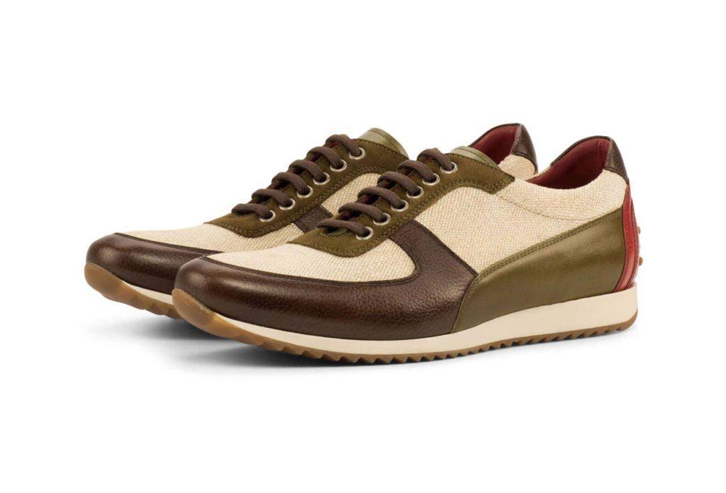 Left side London Golf Bespoke Shoes
