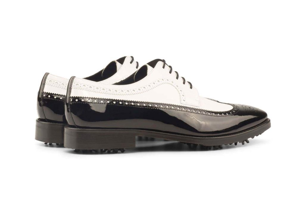 Right side Longwing Blucher Golf Bespoke Shoes