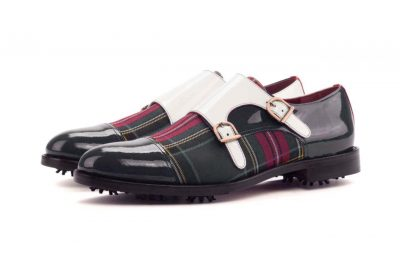 Left side Double Monk Golf Bespoke Shoes